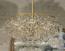 amazing simple teardrop chandelier with modern edge clean simple faceted cut crystals make this an