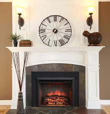 large electric fireplace with mantel excellent large electric fireplace insert fireplaces regarding large electric fireplace insert