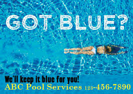 Pool U0026 Pool Services Postcards  RESPONSE Targeted MarketingSwimming Pools Service