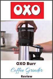 A burr grinder works like a pepper mill in that coffee beans pass through two metal or plastic objects to be ground into pieces. Oxo Burr Coffee Grinder Review