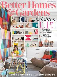 Small Picture Better Homes and Gardens Magazine April 2017 Edition Texture