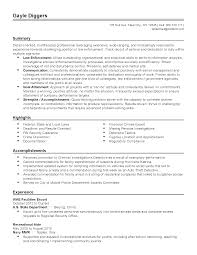 Escort Resume Collection Of solutions Professional Facilities Escort Templates to 1