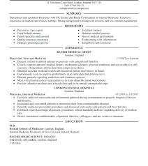 doctor cv sample doctor resume examples cover letter template for medical office how