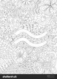 Zodiac Sign Aquarius Floral Geometric Doodle