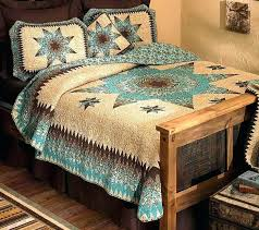 turquoise western bedding western bedding sets western comforters sets western bedding sets