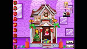 barbie christmas house y8 com online games by malditha youtube