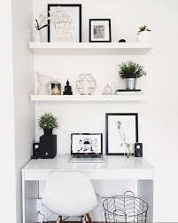Workspace Goals On Instagram: U201cStarting Our Feed With This White Workspace  Regram From Hayley · White Desk BedroomDecor ...