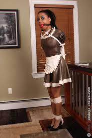 Z bondage sissy maid