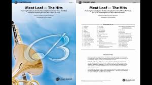 <b>Meat Loaf</b>—The <b>Hits</b>, arr. Patrick Roszell – Score & Sound - YouTube