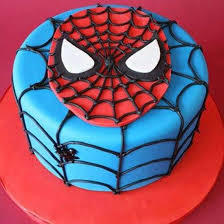 Just For You Spiderman Cake Chocolate Online Cake Delivery