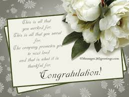Another Word For Congratulations Congratulation Messages For Promotion 365greetings Com