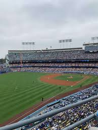 Dodger Stadium Section 43rs Home Of Los Angeles Dodgers