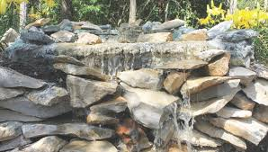 diy garden waterfall projects the