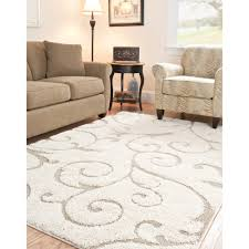 Full Size of Area Rugs:wonderful Beige Shag Rug Colours Noelia L W  Departments Diy At Large ...
