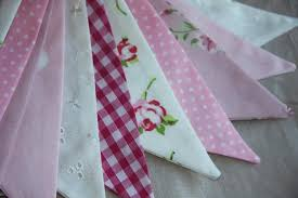 DOUBLE SIDED Boy's dinosaur fabric and blue gingham LAURA ASHLEY BUNTING  Party Banners, Bunting & Garlands