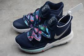 Best Kyrie 3 Designs Nike Kyrie 5 Ep Multi Color Metallic Silver Shoes Best Price Aq2456 900
