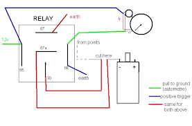 installing shift light here is one diagram on how to make it the 5pin relay and shift light its really easy to do
