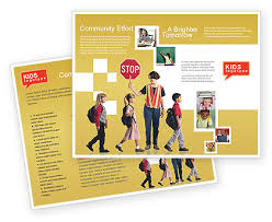 Educational Brochure Templates - Costumepartyrun