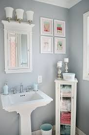 Best Pedestal Sink Storage Ideas On Pinterest Small Pedestal