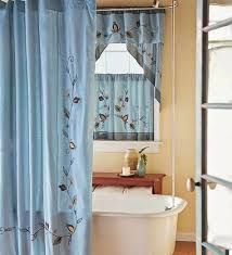 17 best images about bathroom curtains on voile shower curtain with matching window valance