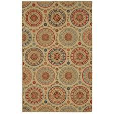 mohawk home amias medallion multi 7 ft x 10 ft area rug