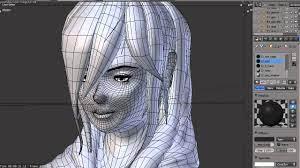 19. Blender 3D anime test (female model test) - YouTube