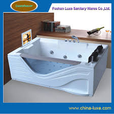 2 person jacuzzi whirlpool jetted bathtub with tv dvd