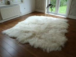 costco fur rug extraordinary large sheepskin rug natural ivory 8 skin hide costco fur rug genuine sheepskin