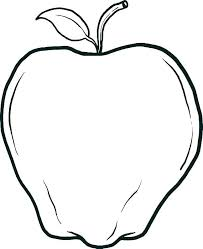 Fall Apple Coloring Pages At Free Printable Page Red Print Pdf