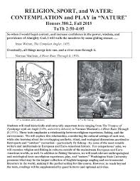 fishing and religion the literary fly fisher my fall 2015 religion sport and water university course
