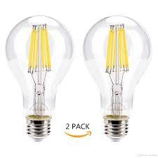 Light Bulb 100w Equivalent St21 Led Filament Bulbs 100w Equivalent 120v Edison Style 5000k Daylight 11w Dimmable 1500 Lumens Light Bulb E26 Screw Base Flood Light Bulbs Bulb