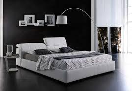 white modern platform bed. Modern White Platform Bed With Storage NJ087 O