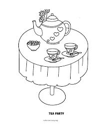 fancy nancy coloring page tea party coloring pages tea party fancy coloring pages to print fancy