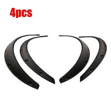 4PCS Black Universal <b>Car</b> Wheel Fender <b>widening</b> Wheels Interior ...