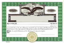 Stock Certificate Template Printable Stock Certificate Template Rome Fontanacountryinn Com