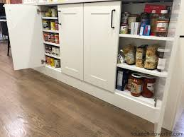 create custom canned goods storage from