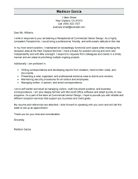 Example Resume And Cover Letter Free Cover Letter Examples For Every