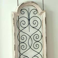 large wood wall decor wooden arch wall decor wood and metal wall decor ivory by grey large wood wall decor