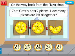 Improper Pizza: A year 5 fractions resource for interactive ...