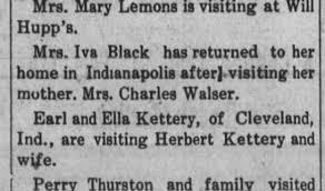 Iva Black 1910 - Newspapers.com