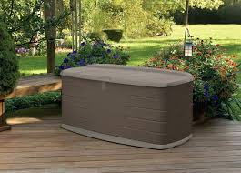 Extra Large Deck Box 200 Gallon L With Seat
