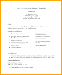 Spa Receptionist Resume Cool Resume Objective For Receptionist Receptionist Resume Objective