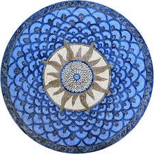 art tile designs. Beautiful Tile Sunburst Stone Mosaic Art Tile Design Medallion For By Mozaico On Designs A