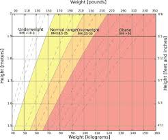 15 Year Old Height And Weight Chart How Much Should I Weigh For My Height And Age Measure Your