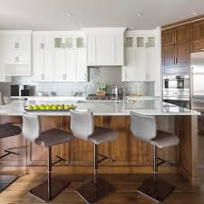 large transitional open concept kitchen designs example of a large transitional single wall medium