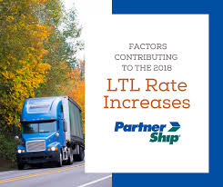 Ltl Freight Quote Fascinating Factors Contributing To The 48 LTL Rate Increases PartnerShip