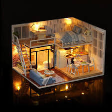 minature doll house furniture. Image Is Loading CUTEBEE-DIY-Doll-House-Wooden-Doll-Houses-Miniature- Minature Doll House Furniture S