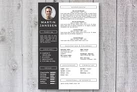 Modern Resume Template Cv Get Noticed Creative Unique Templates For