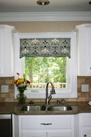Modern Kitchen Windows Hall Window Valances With Window Treatments Kitchen  On Pinterest With White Wall Design