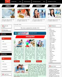 3 Templates Template For Joomla 168 With Responsive Home Page Block